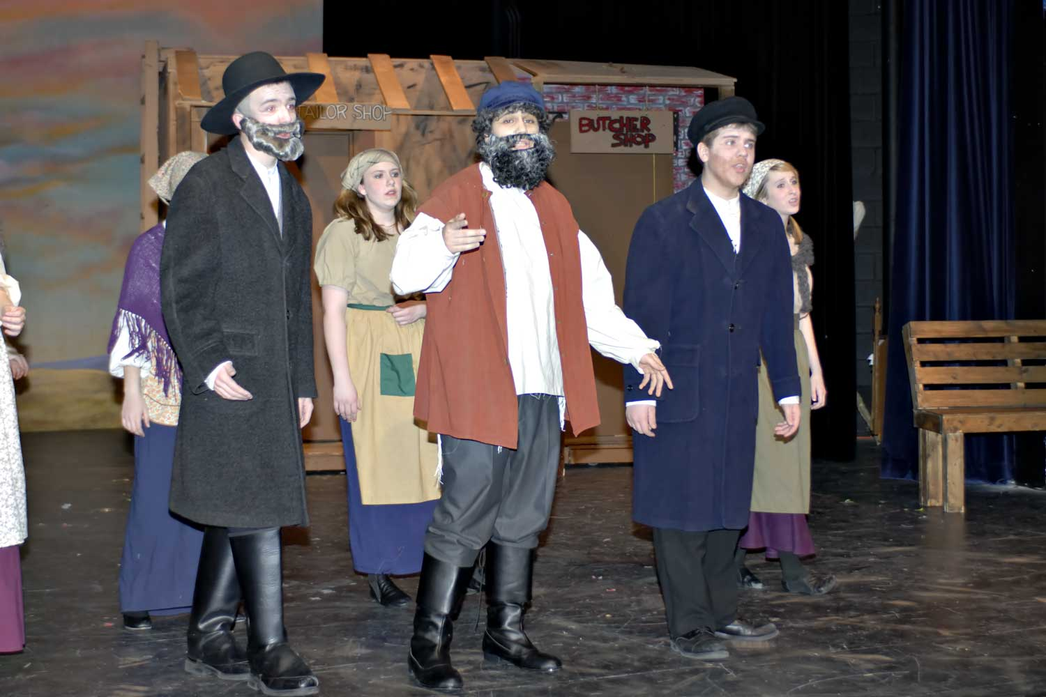 Shepton High School - Fiddler on the Roof - Photos by Doug Fejer