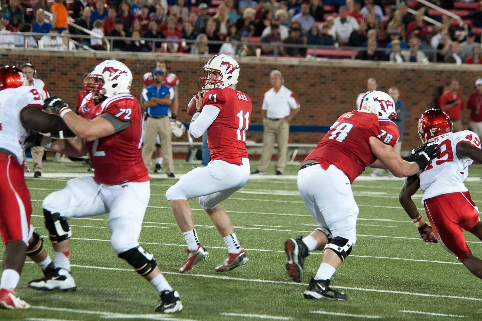 End Game >> SMU Football vs. University of Houston - Photos by Doug Fejer