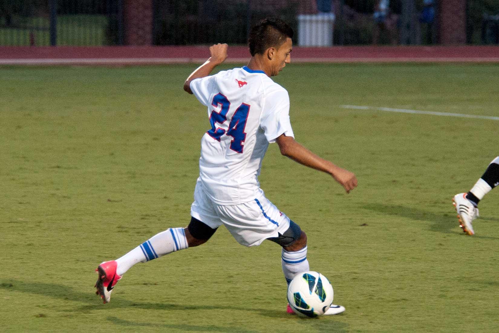 SMU Soccer vs. Campbell Soccer 24