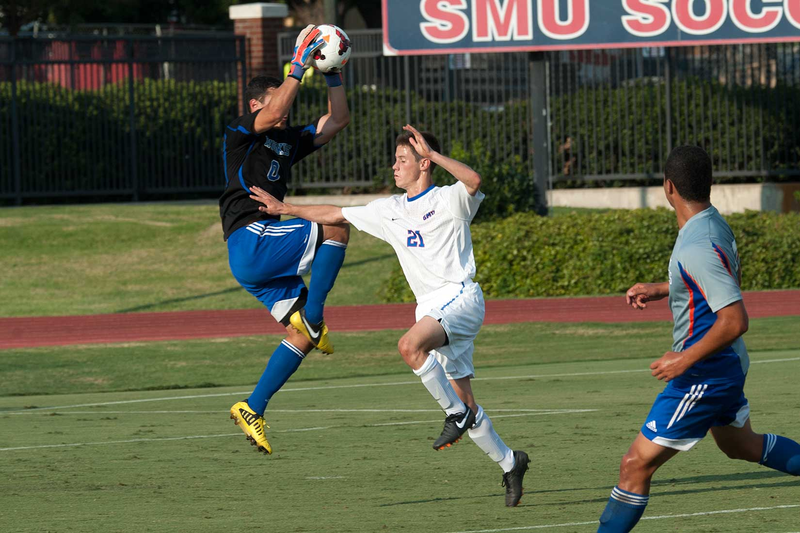 SMU Soccer vs. Houston Baptist University - Photos by Doug ... Soccer 24