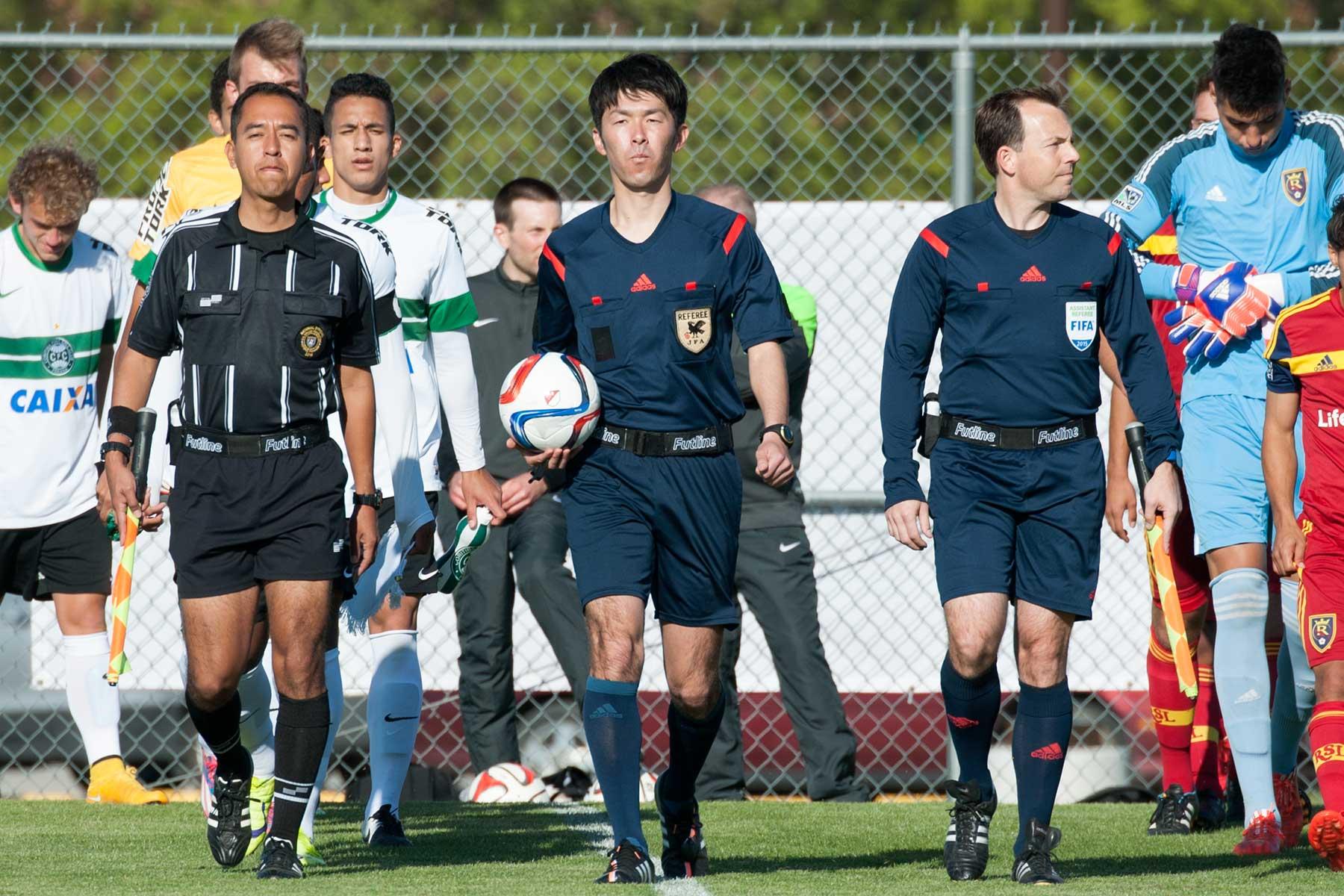 Real Salt Lake vs  Coritiba FC - 2015 Dallas Cup - Photos by