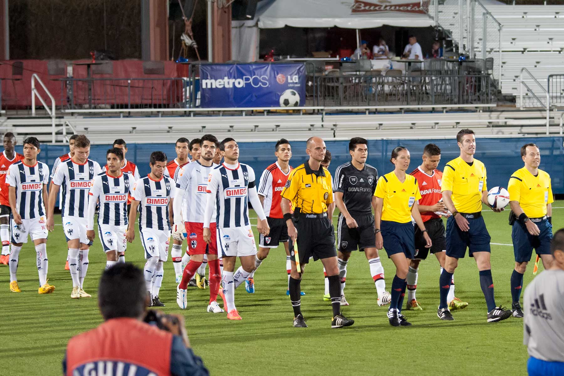 CF Monterrey Rayados vs River Plate- 2015 Dallas Cup