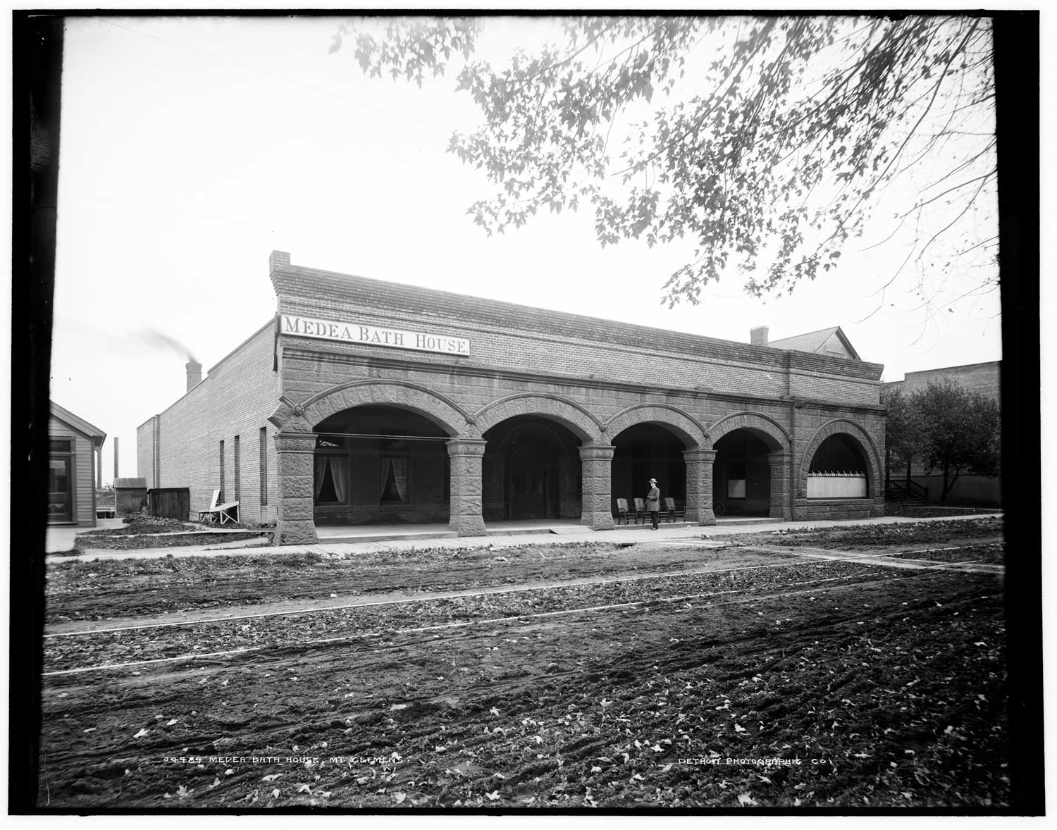 the medea bath house mount clemens michigan